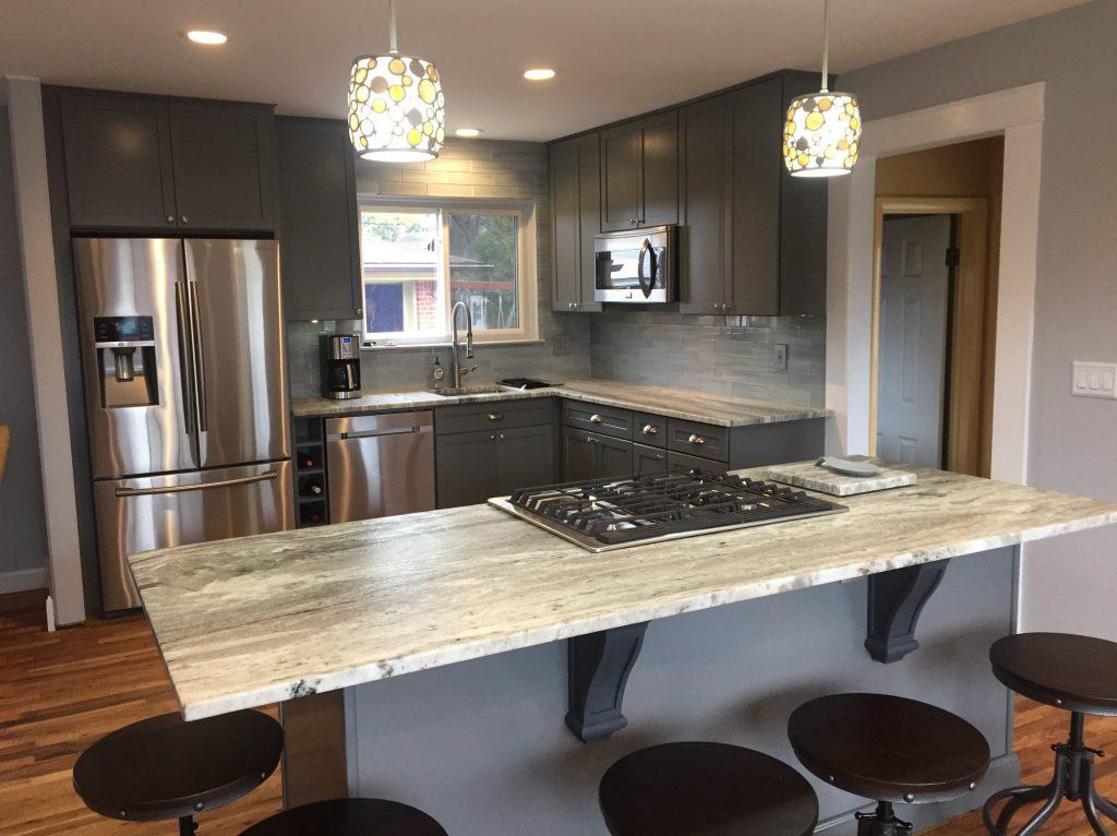 Rochester Hills Granite Installation