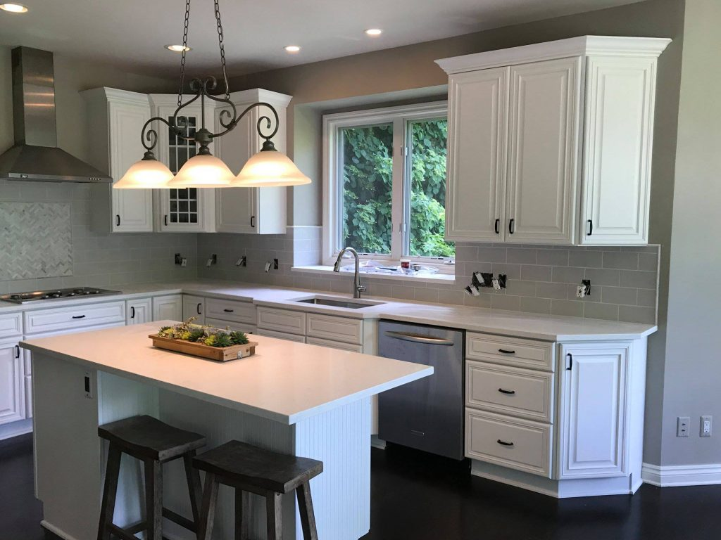 Bloomfield Hills Quartz Countertop Installation